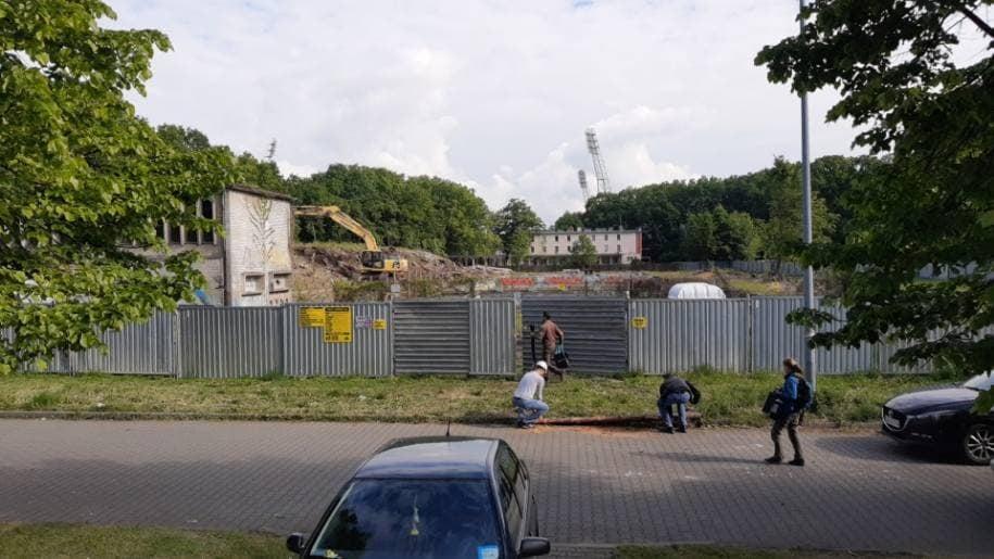 Rozpoczęło się wyburzanie dawnego Basenu Olimpijskiego.