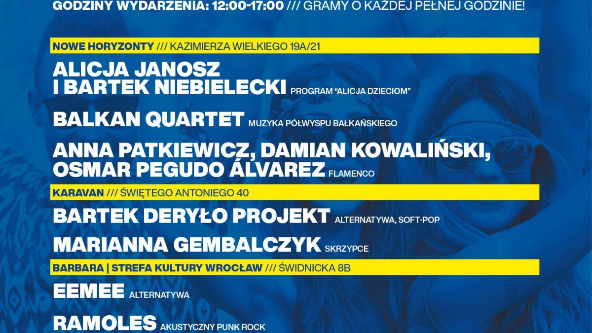 Muzyka na żywo w sercu miasta – Wrocław świętuje Dzień Europy