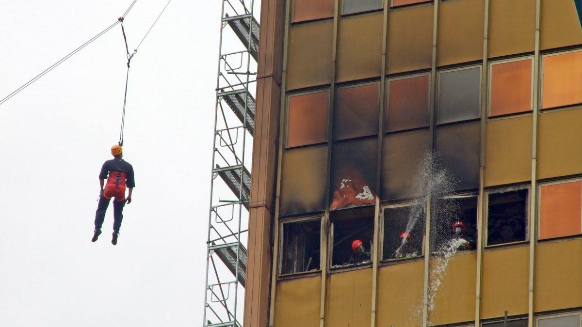 14 lat temu, w ramach ćwiczeń podpalono Poltegor.
